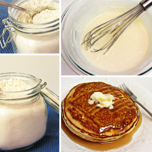 How To Make Pancakes With Mix  Make Your Own Homemade Pancake Mix Home Cooking Memories