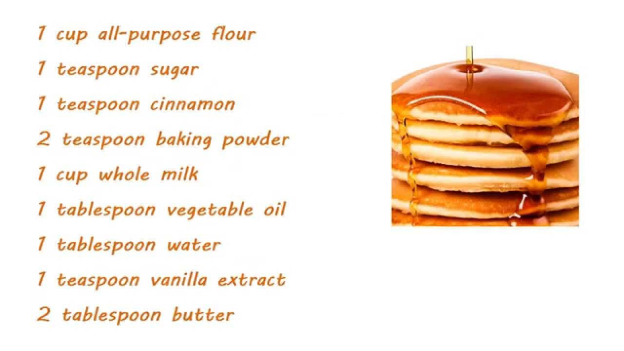 How To Make Pancakes With Mix  Can you make pancakes without eggs