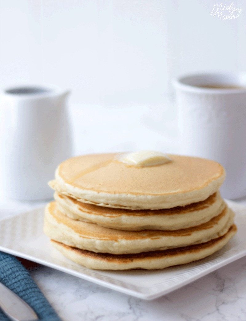 How To Make Pancakes With Mix  Fluffy & Delicious Homemade Pancakes Using Homemade