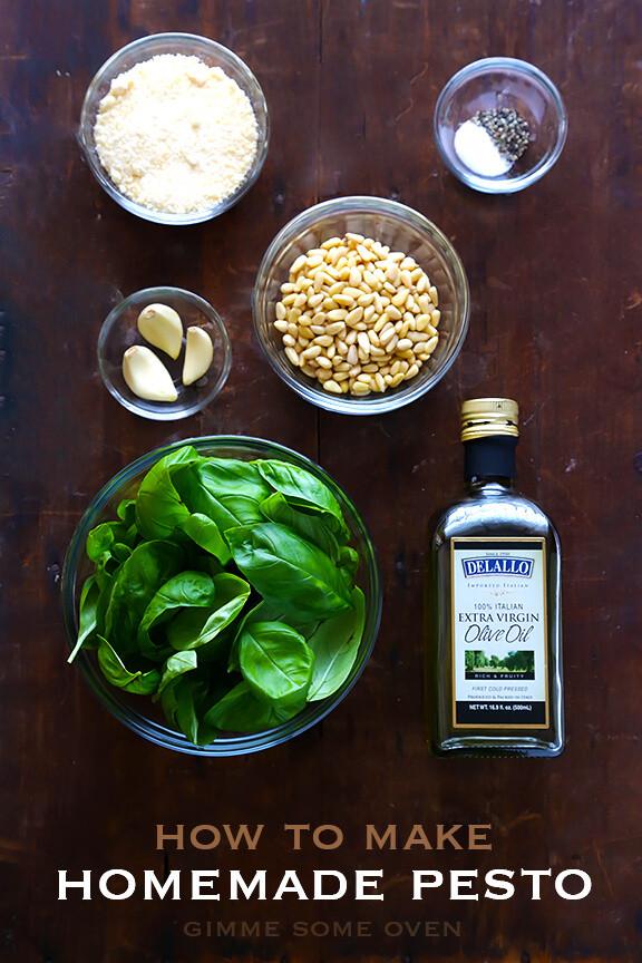 How To Make Pesto Sauce  How To Make Pesto