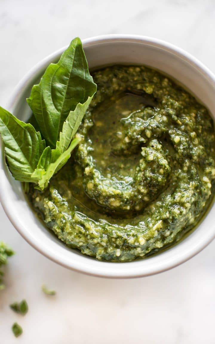 How To Make Pesto Sauce  How to Make Pesto Sauce • Salt & Lavender