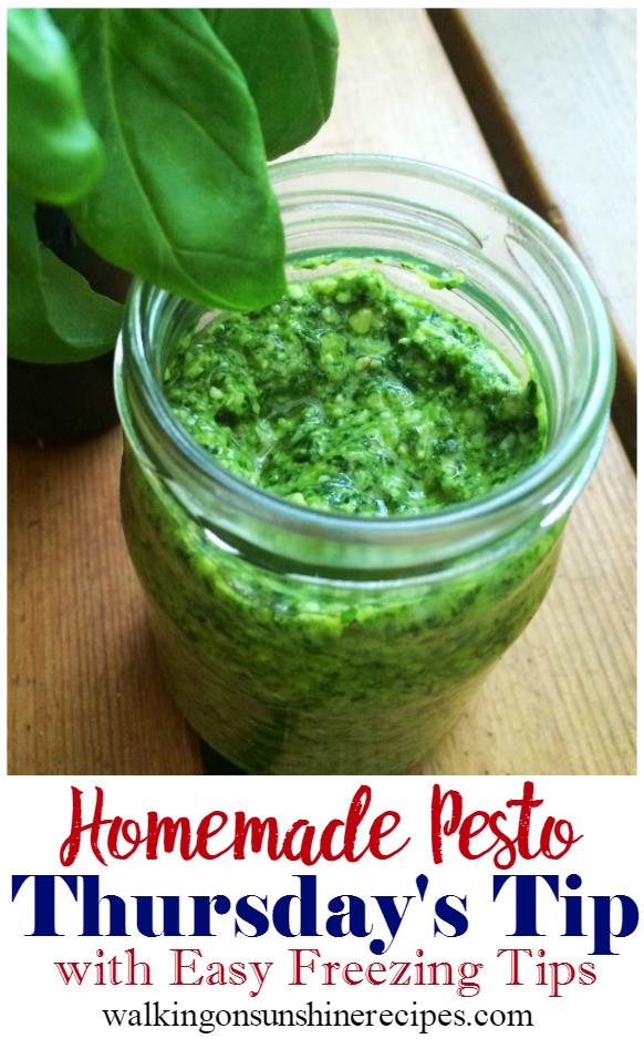 How To Make Pesto Sauce  How to Make the Best Basil Pesto Sauce Recipe Thursday s