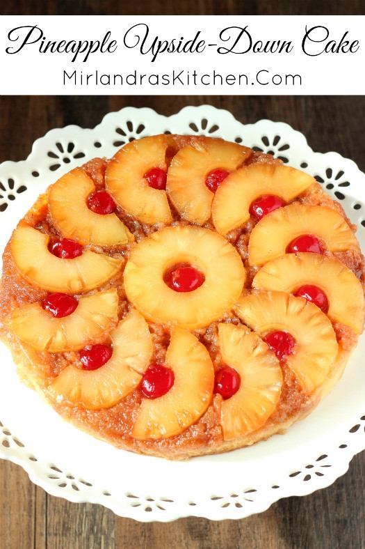 How To Make Pineapple Upside Down Cake  Pineapple Upside Down Cake Mirlandra s Kitchen