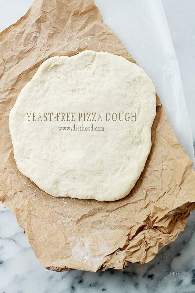 How To Make Pizza Dough Without Yeast  Yeast Free Pizza Dough Recipe
