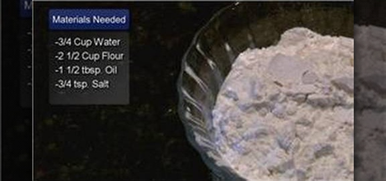 How To Make Pizza Dough Without Yeast  How to Make no yeast pizza dough Pizza WonderHowTo