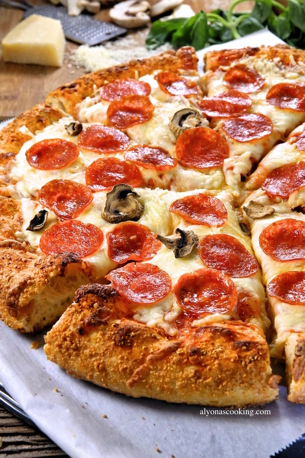 How To Make Pizza Dough Without Yeast  Crusty Pizza Dough Recipe