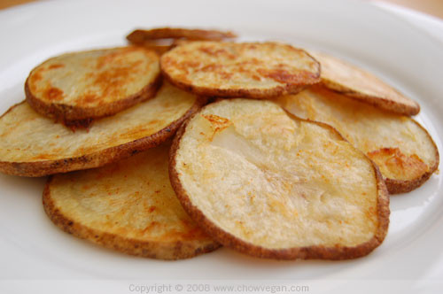 How To Make Potato Chips In The Oven  Mommying The Fly Baked Potato Chips