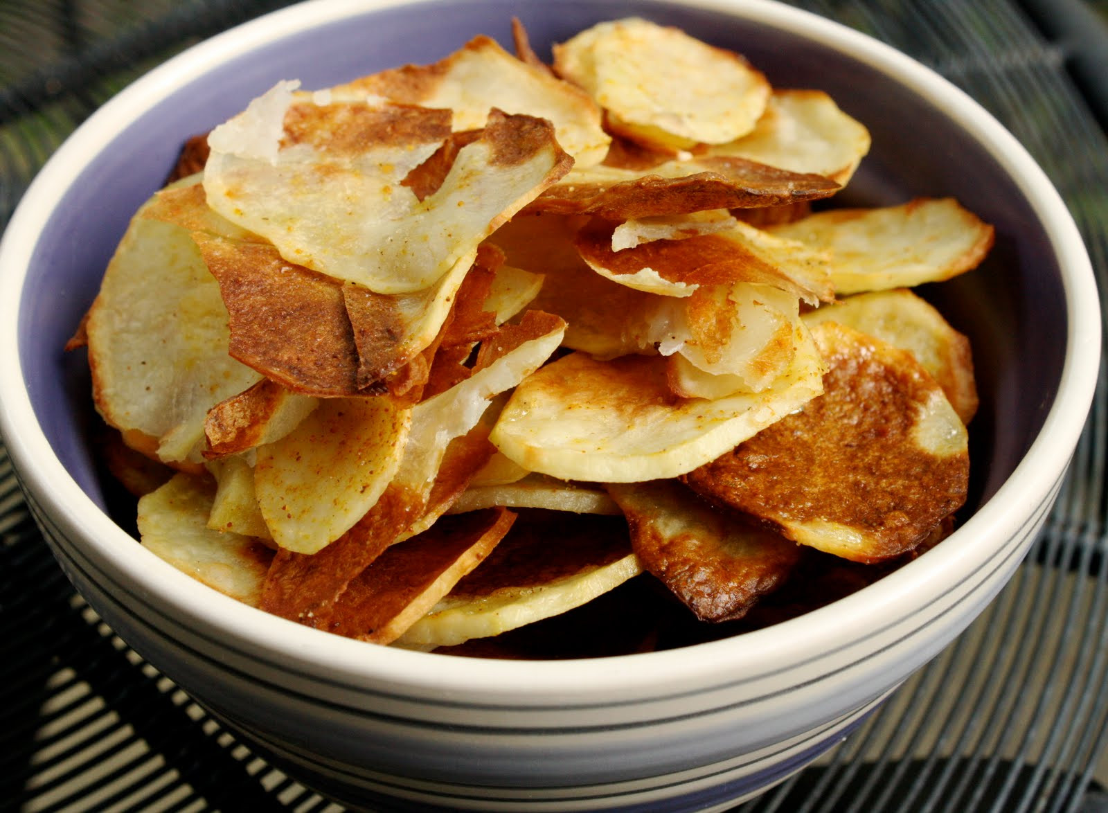 How To Make Potato Chips In The Oven  Oven Baked Potato Chips