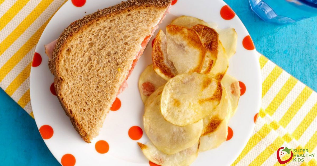How To Make Potato Chips In The Oven  Oven Baked Potato Chips Recipe