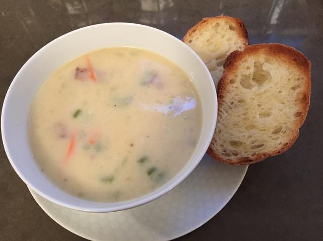 How To Make Potato Soup  How to Make the BEST Potato Bacon Soup Recipe Snapguide