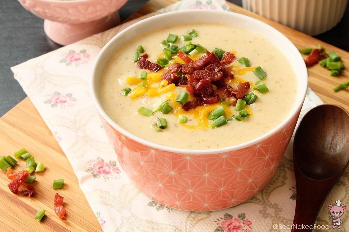 How To Make Potato Soup  How To Make Cheesy Potato Soup I Glorious Soup Recipes
