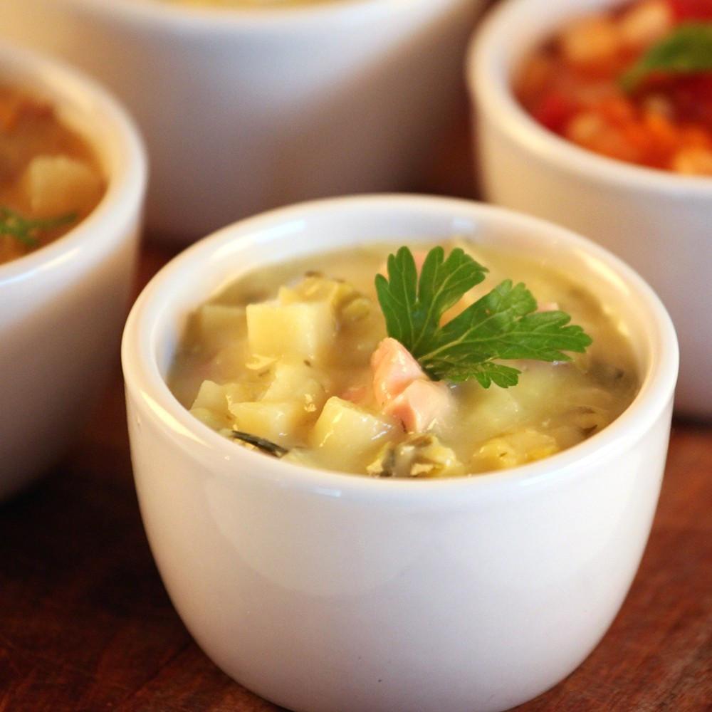 How To Make Potato Soup  How To Make Chunky Potato Soup Glorious Soup Recipes