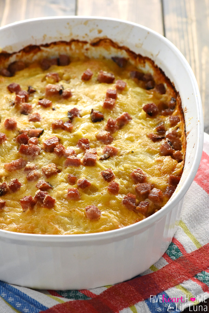 How To Make Scalloped Potatoes  Cheesy Scalloped Potatoes and Ham recipe