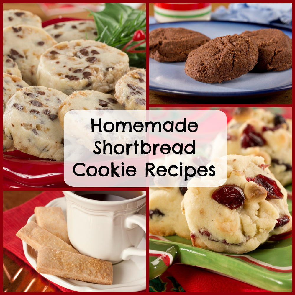 How To Make Shortbread Cookies  Homemade Cookie Recipes 11 Recipes for Shortbread Cookies