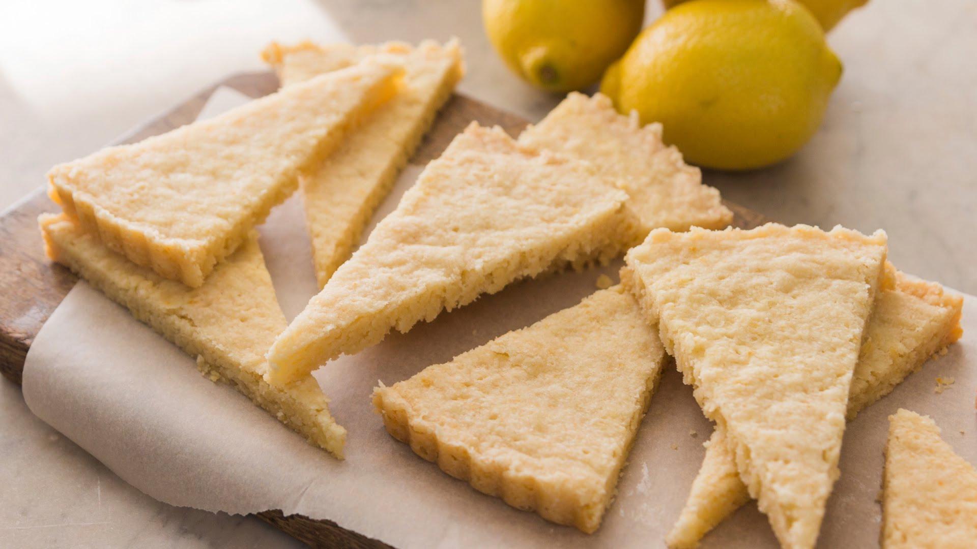 How To Make Shortbread Cookies  How To Make Lemon Shortbread Cookies