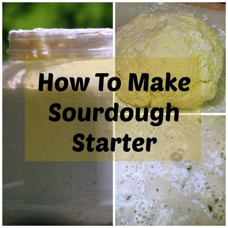 How To Make Sourdough Bread Starter  How to Make a Sourdough Starter Recipe