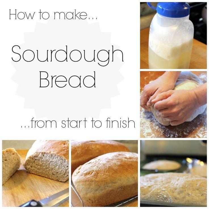 How To Make Sourdough Bread Starter  Sourdough Starter and Bread Recipe Nancherrow