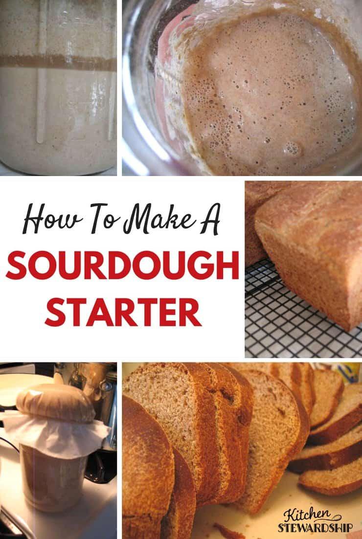 How To Make Sourdough Bread Starter  How to Make a Sourdough Starter
