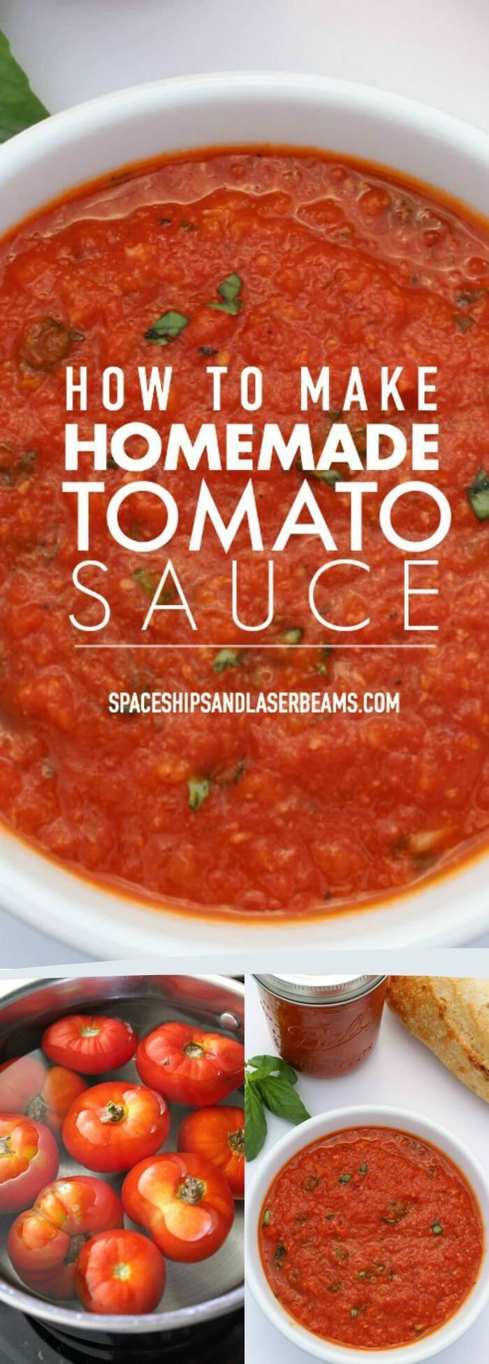 How To Make Spaghetti Sauce With Tomato Sauce  ITALIAN SPAGHETTI SAUCE and CANNING INSTRUCTIONS
