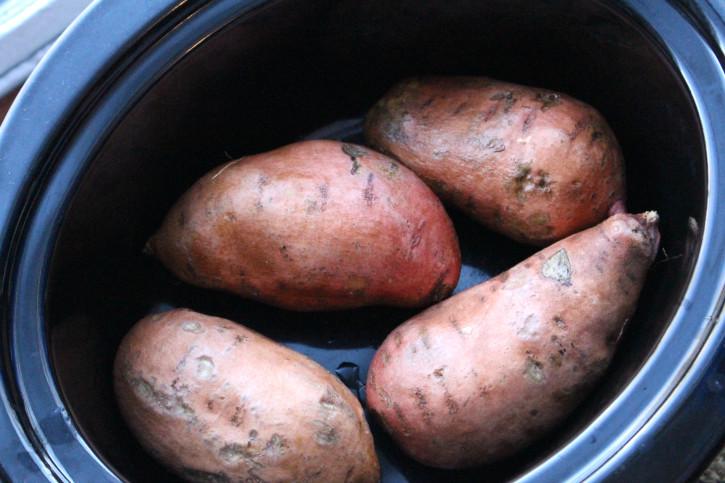 How To Make Sweet Potato  How to make Crockpot Sweet Potatoes Family Fresh Meals