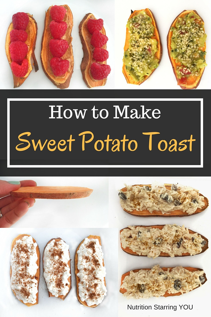 How To Make Sweet Potato  How to Make Sweet Potato Toast Nutrition Starring YOU