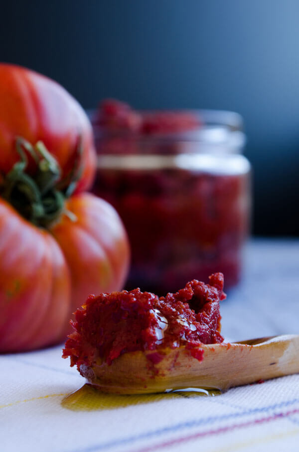 How To Make Tomato Sauce From Tomato Paste  Homemade Tomato Paste Give Recipe