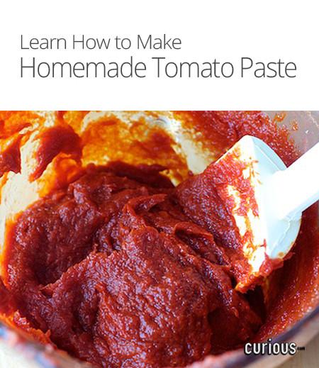 How To Make Tomato Sauce From Tomato Paste  How to Make Homemade Tomato Paste