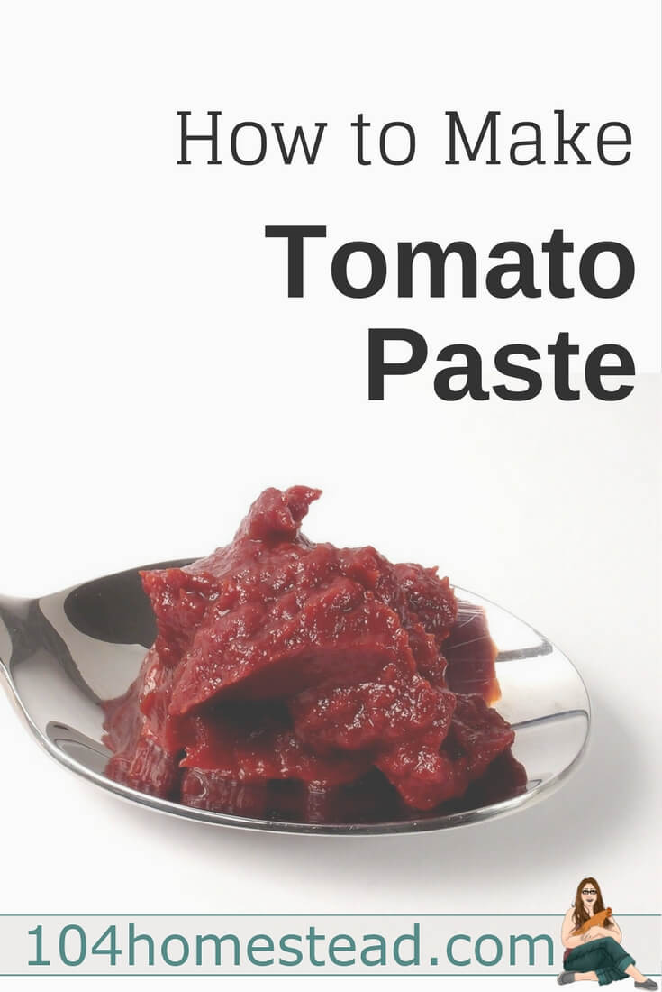 How To Make Tomato Sauce Out Of Tomato Paste  How to Make Tomato Paste Easily in the Oven