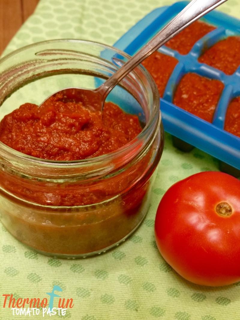 How To Make Tomato Sauce Out Of Tomato Paste  ThermoFun Everyday Basics Tomato Paste Recipe