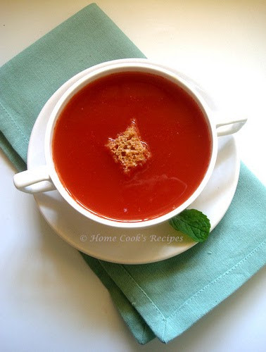 How To Make Tomato Soup  How to Make Tomato Soup at Home Indian Style