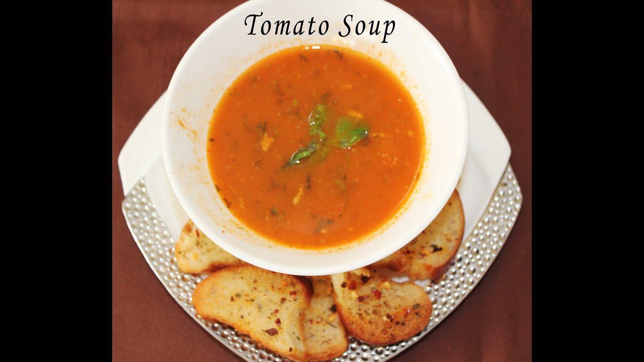 How To Make Tomato Soup  quick and easy tomato soup recipe