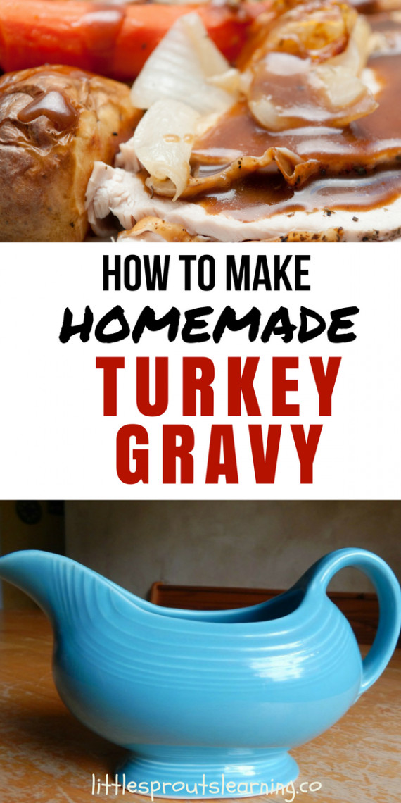 How To Make Turkey Gravy  Homemade Brown Gravy Recipe Turkey Gravy Like Grandma Made