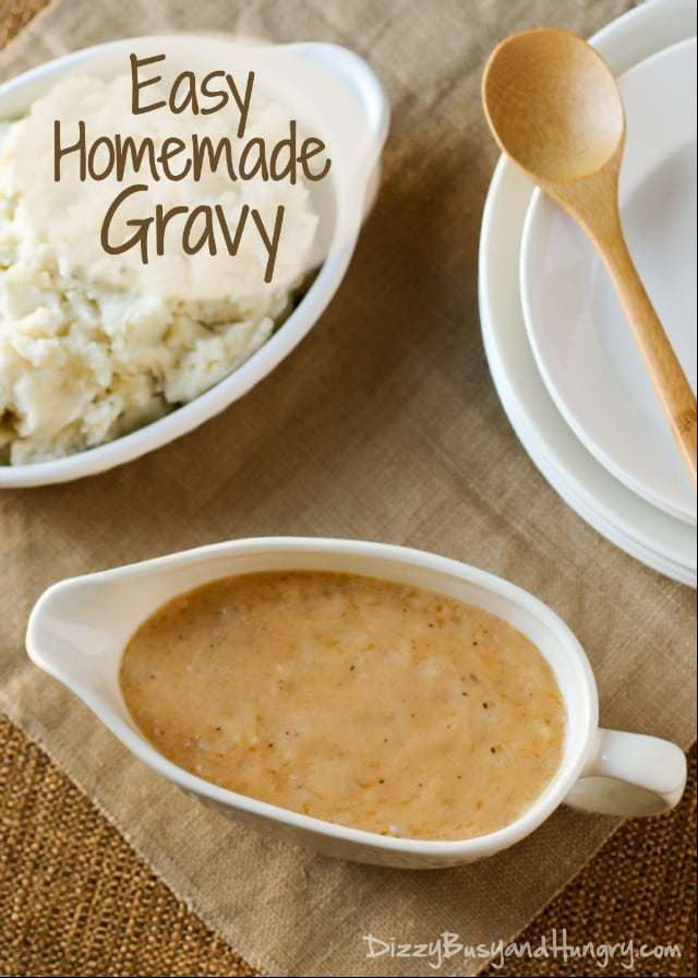 How To Make Turkey Gravy From Scratch  how to make homemade gravy from scratch