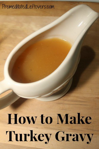 How To Make Turkey Gravy  How to Cook a Turkey in a Slow Cooker