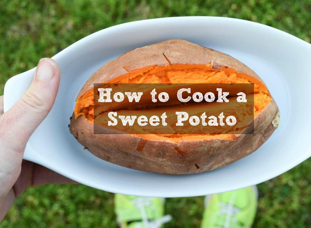 How To Microwave Sweet Potato  How to Roast Grill Microwave & Slow Cook a Sweet Potato
