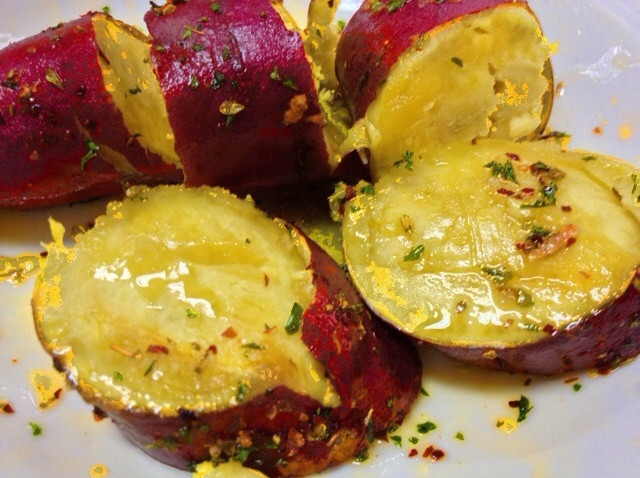 How To Microwave Sweet Potato  How to Make Microwave Baked Sweet Potato Recipe Snapguide