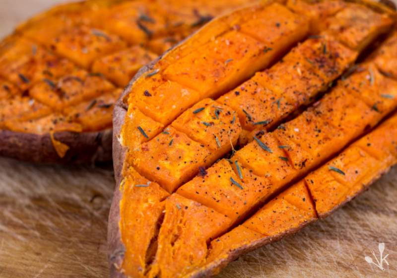 How To Microwave Sweet Potato  How To Cook A Sweet Potato In The Microwave