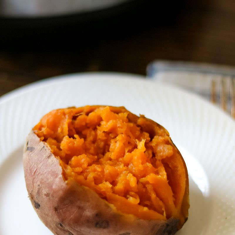 How To Microwave Sweet Potato  PERFECT Instant Pot Sweet Potatoes