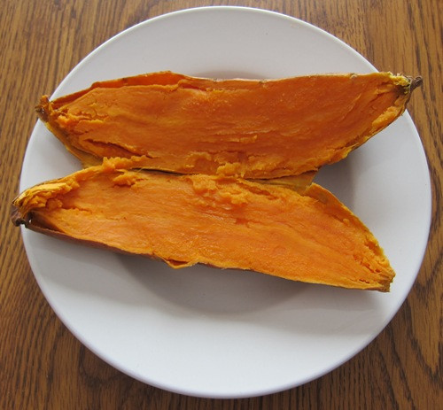 How To Microwave Sweet Potato  How To Cook Sweet Potatoes In A Microwave – Melanie Cooks