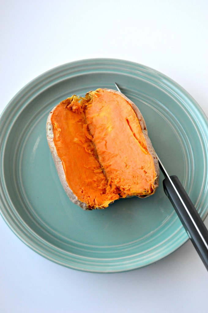 How To Microwave Sweet Potato  How to Make a Baked Sweet Potato in the Microwave Clean