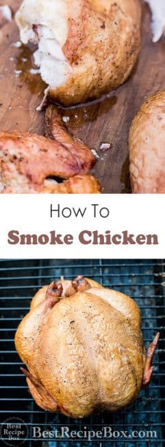 How To Smoke A Whole Chicken  How to Smoke a Whole Chicken in Smoker