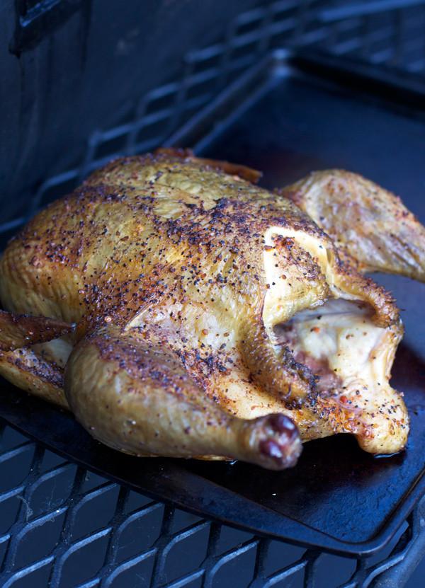 How To Smoke A Whole Chicken  BBQ Corner part 17 Smoked Whole Chicken Vindulge
