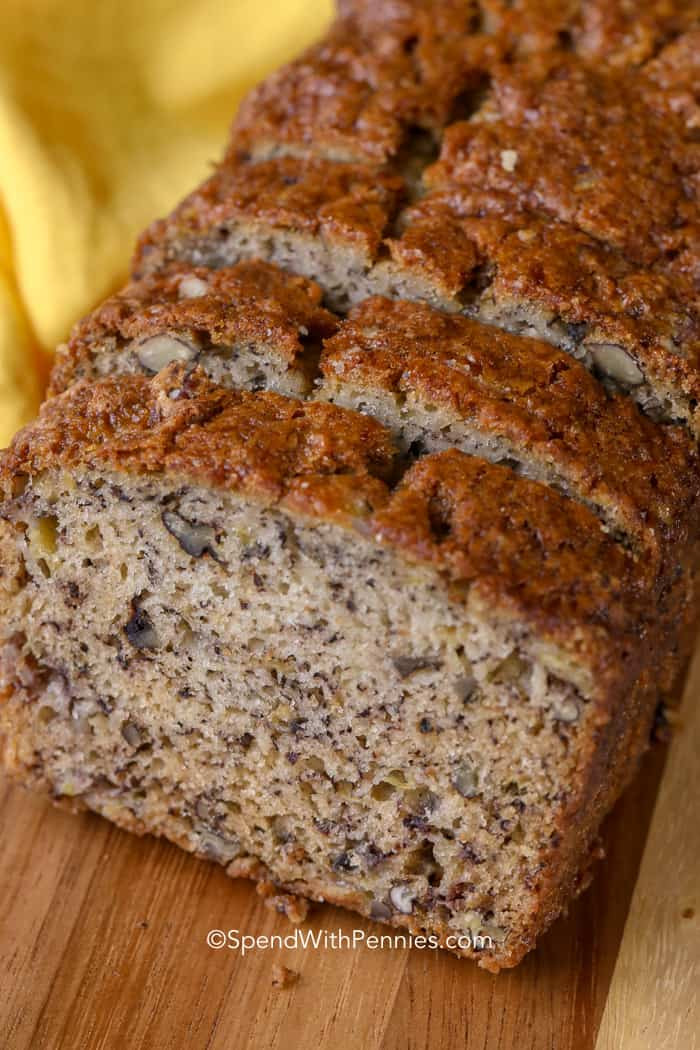 How To Store Banana Bread  Easy Banana Bread Recipe Deliciously Moist  Spend with