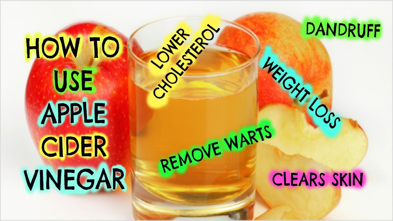 How To Take Apple Cider Vinegar For Weight Loss  How to use Apple Cider Vinegar Weight Loss Dandruff Remove