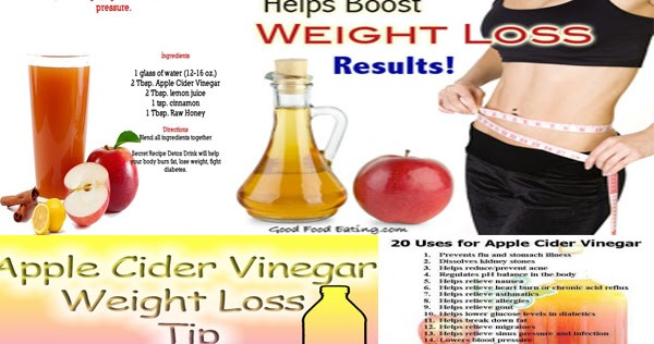 How To Take Apple Cider Vinegar For Weight Loss  The Miracle Working Apple Cider Vinegar Weight Loss Plan