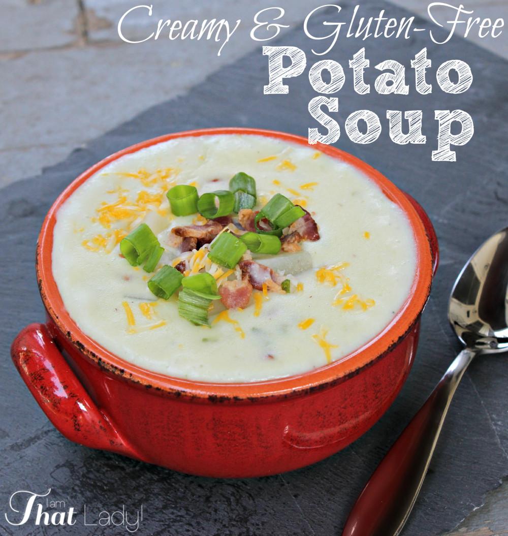 How To Thicken Potato Soup  How to Make Potato Soup Lauren Greutman