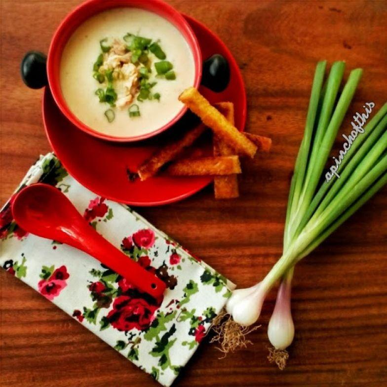 How To Thicken Potato Soup  Thick Potato And Leek Soup Minus The Cream Recipe How
