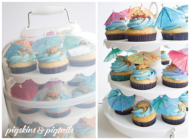 How To Transport Cupcakes  My Favorite Cupcake Carrier Pigskins & Pigtails