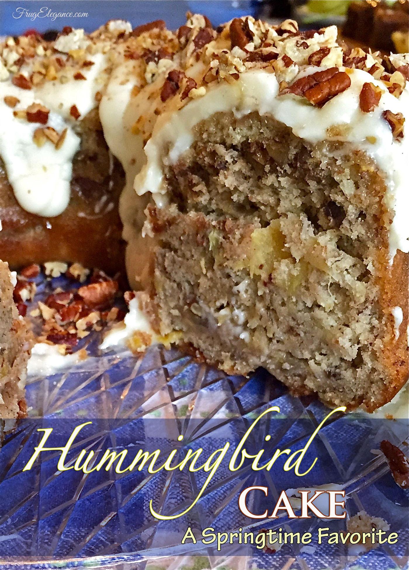 Hummingbird Cake Recipe  Hummingbird Cake Recipe A Springtime Favorite