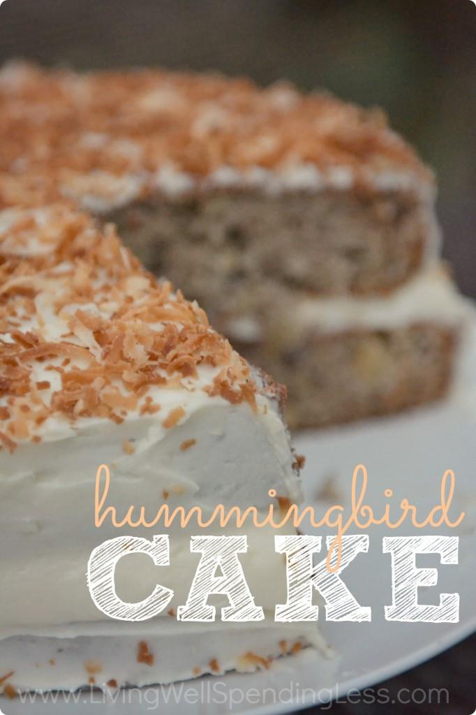 Hummingbird Cake Recipe  Hummingbird Cake Recipe Easy Cake Recipes